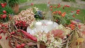 Herbstdeko Selbst Gemacht : sch ne herbstdekoration selber machen ratgeber garten ~ Orissabook.com Haus und Dekorationen
