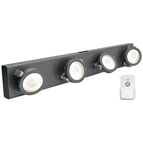 battery operated led lights with remote led battery powered gray light bar with remote 2f971