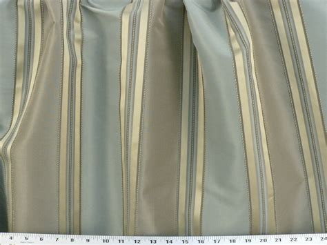 Striped Drapery Fabric by Drapery Upholstery Fabric 110 Quot W Yarn Dyed Faux Silk