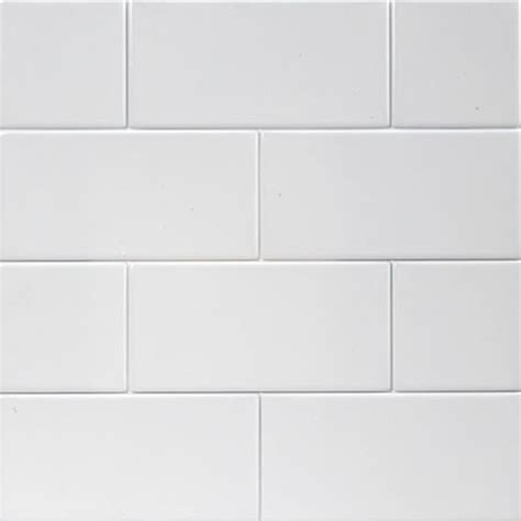 flat tile flat matt white subway tiles 10x20