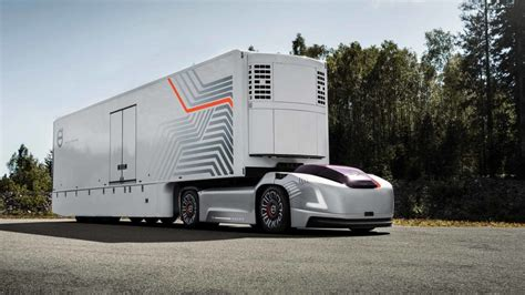 safety driver herevolvos  driverless truck cuts