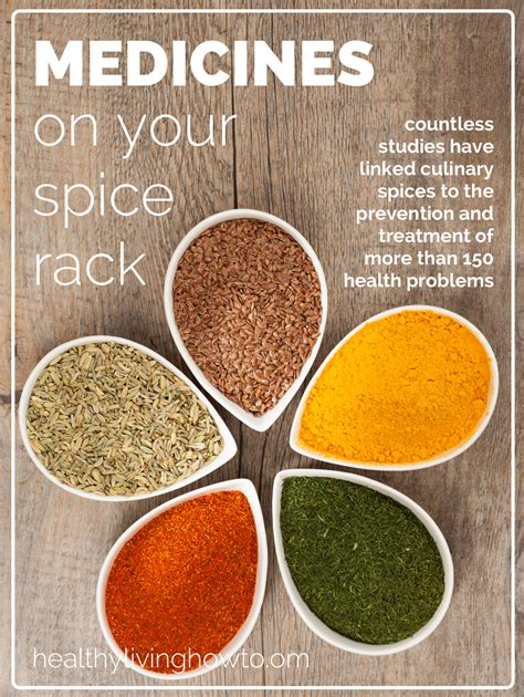 Medicines On Your Spice Rack