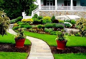 New home designs latest : Modern homes beautiful garden ideas