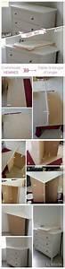 Commode D Angle Chambre : une id e simple pour faire une table langer d 39 angle aussi pratique que jolie transformez une ~ Teatrodelosmanantiales.com Idées de Décoration