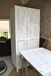 Peindre Un Meuble En Bois : peindre meuble bois sans poncer id e ~ Dailycaller-alerts.com Idées de Décoration
