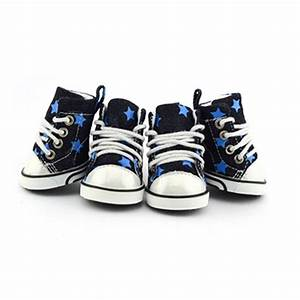 Converse dog shoes by parisian pet denim stars with same for Converse dog shoes