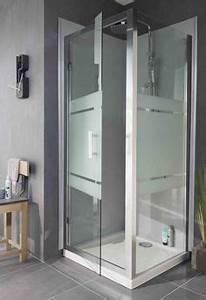 douches aquaneo on pinterest vogue and ebay With porte de douche coulissante avec barre de sécurité pour salle de bain
