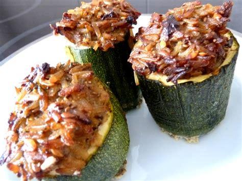 recette de cuisine courgette courgettes farcies au riz recette de cuisine alcaline