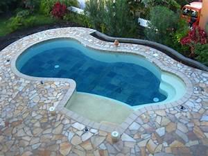 piscines de prestige et spas a la reunion construction With wonderful plage piscine pierre naturelle 7 les piscines de forme libre