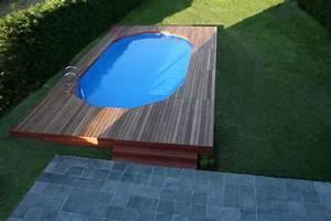 Enterrer Une Piscine Hors Sol : blog de hugues0509 construction piscine gre ~ Melissatoandfro.com Idées de Décoration
