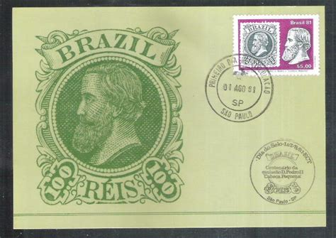 max067 1981 dia do selo cabe 231 a pequena 100 r 233 is selo sobre selo