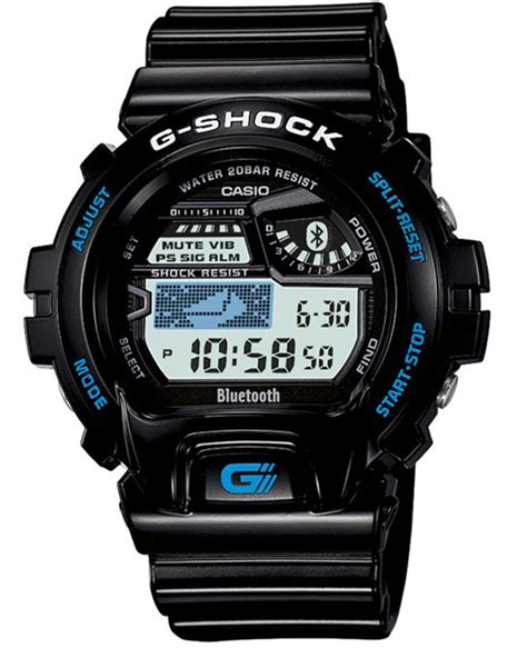 Casio G Shock Bluetooth by Casio La G Shock Devient Bluetooth W3sh