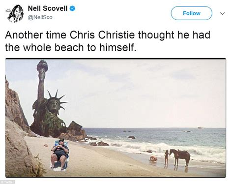 Chris Christie Memes - chris christie is roasted in hilarious beachgate memes daily mail online