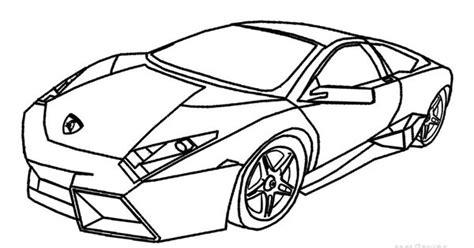 20 Lamborghini Coloring Pages