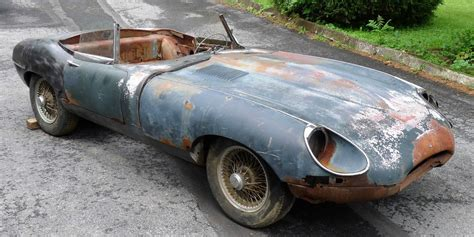 turn  dilapidated jaguar  type