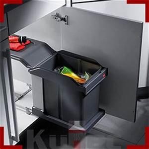 Mülleimer Küche Einbau : m lleimer 20 l einbau abfallsammler hailo 30 cm unterschrank vollauszug k che ebay ~ Markanthonyermac.com Haus und Dekorationen