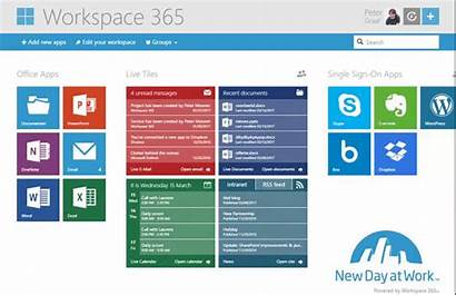 Workspace Office Tile Open Email Emails Directly