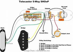Telecaster 2 Humbuckers 4  Switch Wiring Diagram Top 4