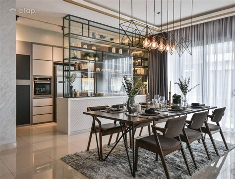 Dining Room Set And Interior Design Ideas Photos by Contemporary Dining Room Kitchen Terrace Design Ideas