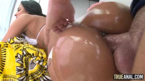 Oiled Goddess Abby Lee Brazil Got Her Ass Fucked In