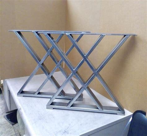 Design Dining Table Style Legs, Sturdy Steel Legs, Set of ...