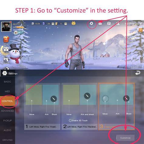mobile gaming aim  trigger mobile gaming aim