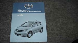 2006 Scion Xa Electrical Wiring Diagram Troubleshooting