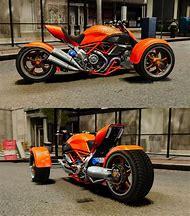 Custom Reverse Trike Motorcycle