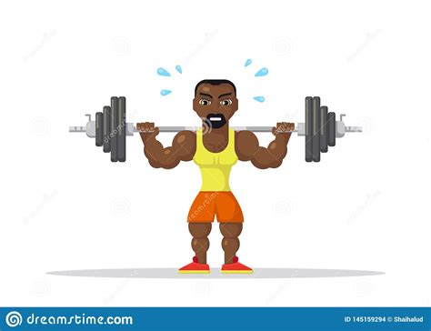 Maybe you would like to learn more about one of these? Weight Lifting athlete stock vector. Illustration of ...
