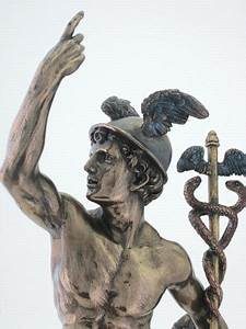 Hermes Statue - Mercury Sculpture