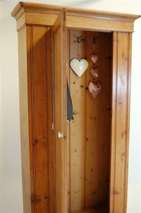 Coat Cupboard by Cupboard Cloak Cabinet Antique Pine Coat Hat Store