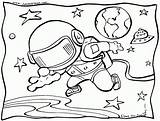 Space Coloring Outer Pages Printable Trippy Ship Getcoloringpages Rocket sketch template