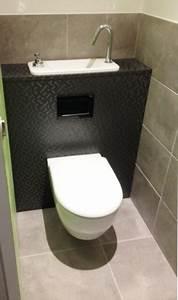 Lave Main Suspendu : wc suspendu avec lave mains compact galerie wici next ~ Nature-et-papiers.com Idées de Décoration