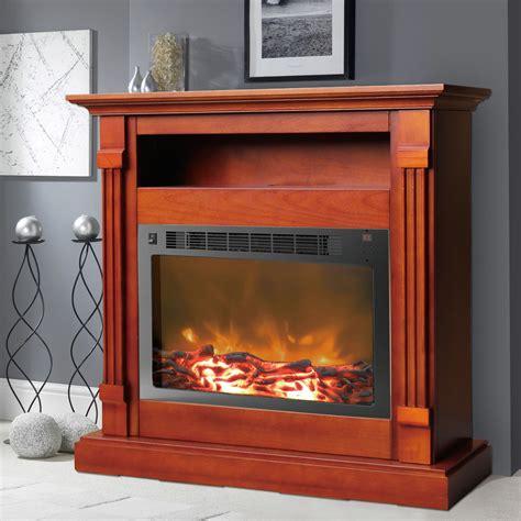 sienna fireplace mantel  electronic fireplace insert