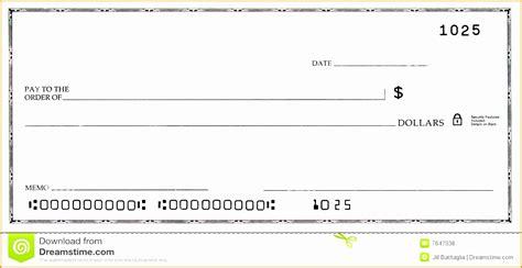 blank check template printable 7 sle of blank resume free sles exles