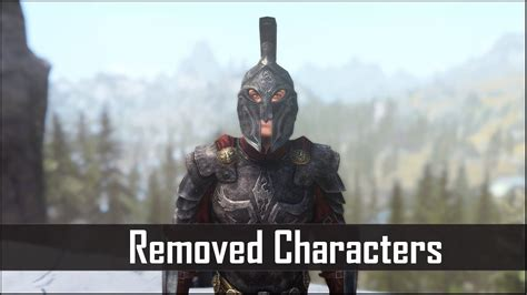 Skyrim 5 Interesting Characters That Bethesda Removed