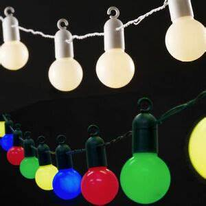 Led Lichterkette Draußen : 20er led party lichterkette kugellichterkette innen au en party deko beleuchtung ebay ~ Buech-reservation.com Haus und Dekorationen