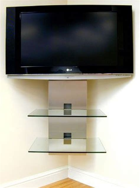 corner tv shelf wall shelves corner tv wall mount with shelves corner tv