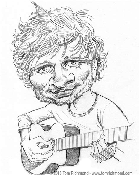Ed Sheeran Kleurplaat by 198 Best Images About Tom Richmond On Limited