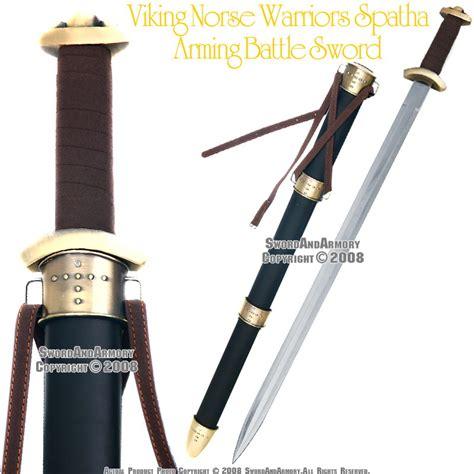 Viking Warrior Spatha Arming Sword Medieval Celtic Sword ...