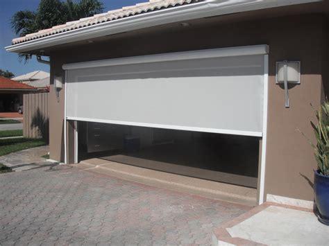 retractable garage door screen garage door screens sentinel retractable screens