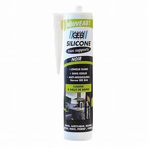 Joint Silicone Exterieur : silicone geb noir 280 ml leroy merlin ~ Melissatoandfro.com Idées de Décoration