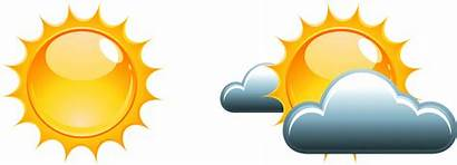 Weather Clipart Forecast Sunny Clip Forecasting Transprent