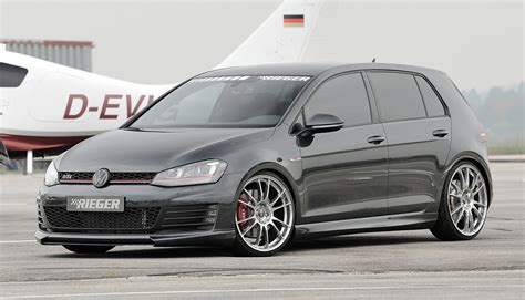 golf 7 tuning new rieger tuning vw golf 7