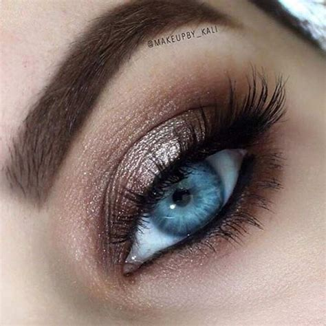 rock makeup  blue eyes easy makeup tutorials