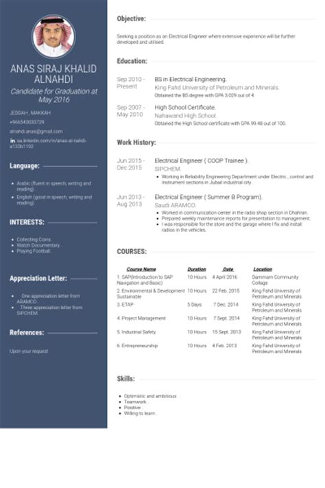 Electrical Systems Engineer Resume Exle by Electrical Engineer Resume Sles Visualcv Resume Sles Database