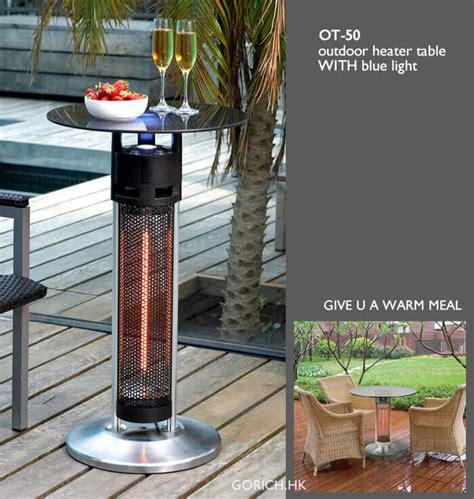 outdoor heater table table heater outdoor heater easyq