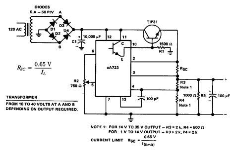purpose power supply circuit diagram