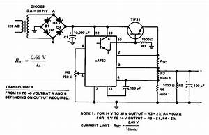 Purpose Power Supply Circuit Diagram