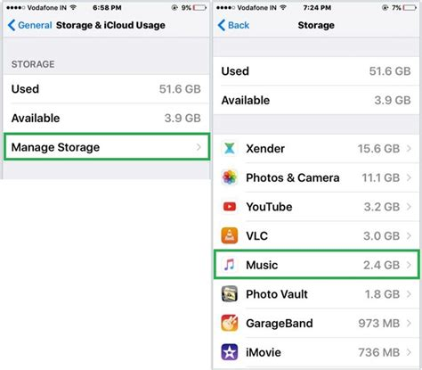 manage iphone storage how to delete songs from iphone 6 6 plus ipod ios